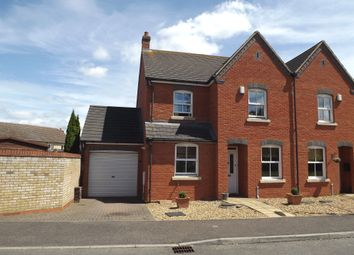 Thumbnail 4 bed end terrace house for sale in Sycamore Close, Potton