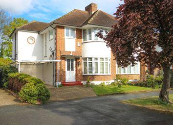 Thumbnail 4 bedroom semi-detached house for sale in Thistledene, Thames Ditton, Thames Ditton