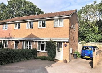 Thumbnail 2 bed semi-detached house for sale in Badger Close, Honiton