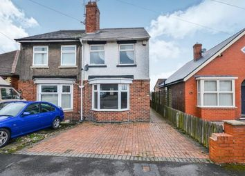 Thumbnail 2 bed semi-detached house for sale in Leamoor Avenue, Somercotes, Alfreton, Derbyshire