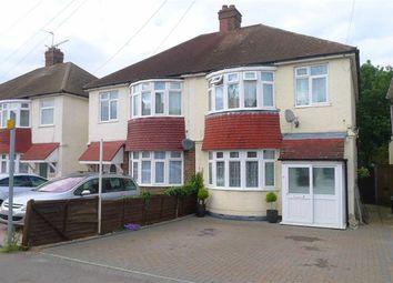 Thumbnail 3 bed semi-detached house for sale in Solomon Road, Rainham, Gillingham