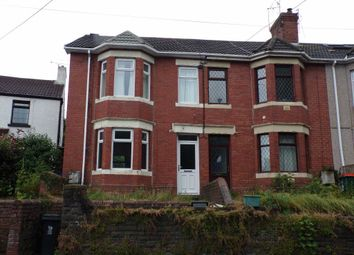 Thumbnail 3 bed property to rent in Risca Road, Rogerstone, Newport