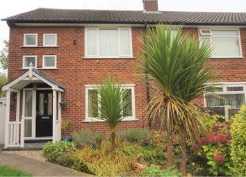 Thumbnail 3 bed end terrace house for sale in Hazel Avenue, Cheadle