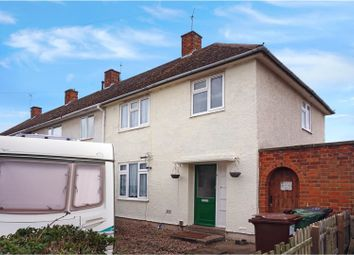 Thumbnail 3 bed end terrace house for sale in Browning Road, Loughborough