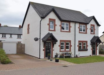 Thumbnail 3 bed semi-detached house for sale in Covenanters Way, Biggar
