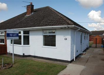 Thumbnail 2 bed semi-detached bungalow to rent in Coniston Avenue, Scartho, Grimsby