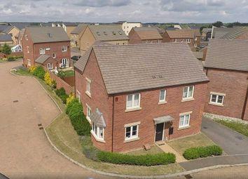 Thumbnail 4 bed detached house for sale in Wensleydale Crescent, Giffard Park, Milton Keynes