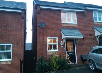 Thumbnail 2 bedroom mews house to rent in Haslingden Crescent, Gornal, Dudley