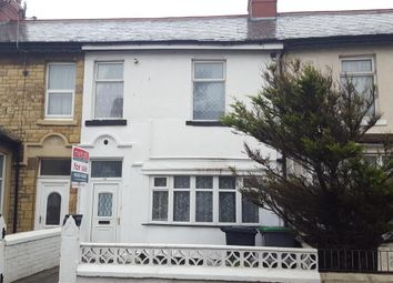 Thumbnail 2 bedroom terraced house for sale in St. Heliers Road, Blackpool