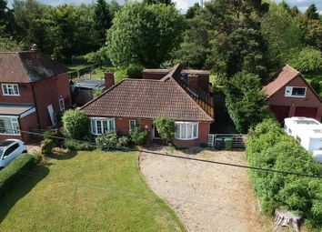 Thumbnail 4 bed detached bungalow for sale in Bramley Road, Pamber End, Tadley