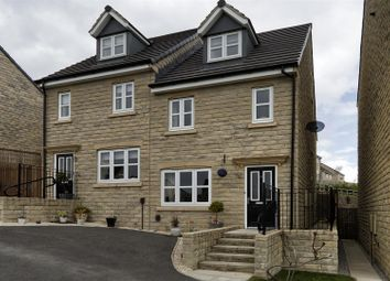Thumbnail 3 bedroom semi-detached house for sale in Tennyson Avenue, Lindley, Huddersfield