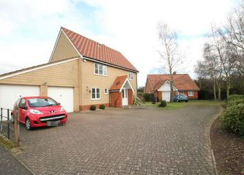 Thumbnail 4 bed detached house for sale in Sandling Crescent, Rushmere St Andrew, Ipswich