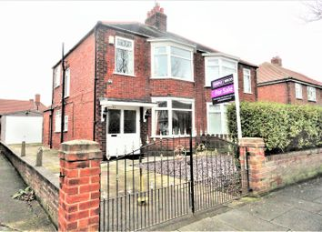 Thumbnail 3 bed semi-detached house for sale in Beverley Road, Redcar
