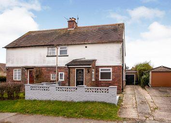 Thumbnail 3 bed semi-detached house for sale in Sandhurst Avenue, Pembury, Tunbridge Wells, Kent