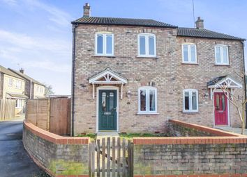 Thumbnail 2 bedroom semi-detached house for sale in Church Road, Leverington, Wisbech