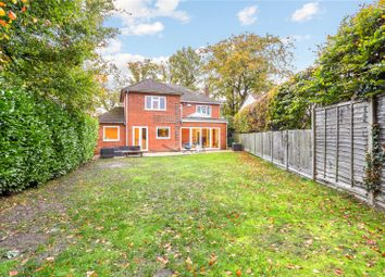 Thumbnail 4 bed detached house for sale in Crookham Road, Church Crookham, Fleet