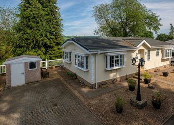 Thumbnail 2 bed mobile/park home for sale in Norton Manor Park, Norton, Presteigne