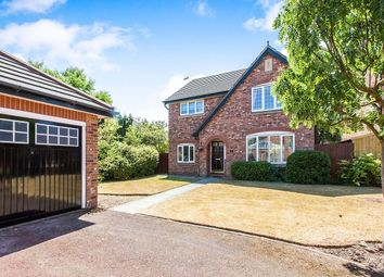 Thumbnail 4 bed detached house for sale in Seagrave Close, Northwich