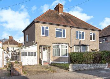 Thumbnail 3 bed semi-detached house for sale in Walden Avenue, Chislehurst