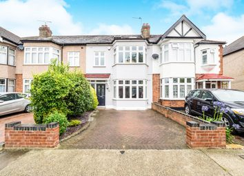 Thumbnail 4 bedroom terraced house for sale in Stanley Avenue, Gidea Park, Romford