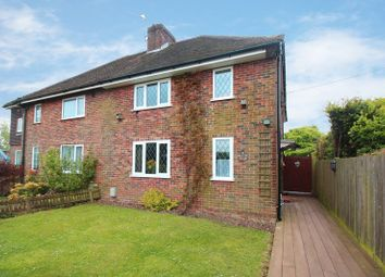 Thumbnail 3 bed semi-detached house for sale in The Mount, Ifield, Crawley