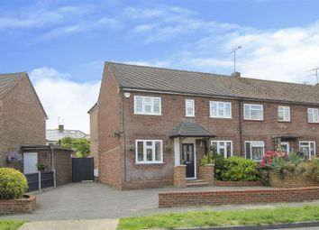 Thumbnail 3 bed end terrace house for sale in Broomwood Gardens, Pilgrims Hatch, Brentwood