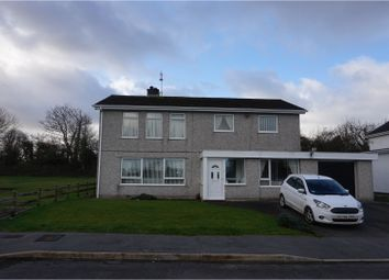 Thumbnail 5 bed detached house for sale in Ffordd Nant, Llangefni