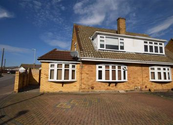 Thumbnail 4 bed semi-detached house for sale in Goldsmith Avenue, Corringham, Essex
