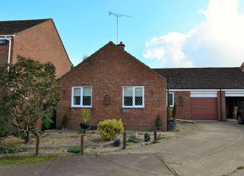 Thumbnail 2 bedroom detached bungalow for sale in Searle Close, Fakenham, Norfolk.