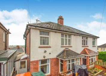 Thumbnail 3 bedroom semi-detached house for sale in Milton Road, Newport