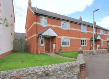 Thumbnail 3 bed end terrace house for sale in Longmead, Hemyock, Cullompton