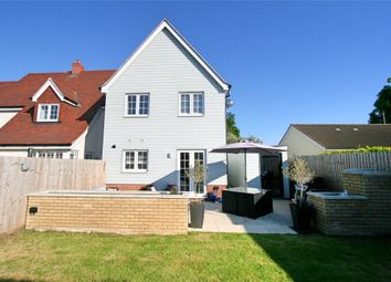 Thumbnail 3 bed end terrace house for sale in Berryfield Close, Tiptree, Colchester, Essex
