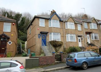 Thumbnail 3 bed semi-detached house for sale in Blandford Road, Lower Compton, Plymouth