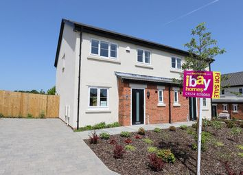 Thumbnail 3 bed semi-detached house for sale in The Green, Kellet Road, Carnforth