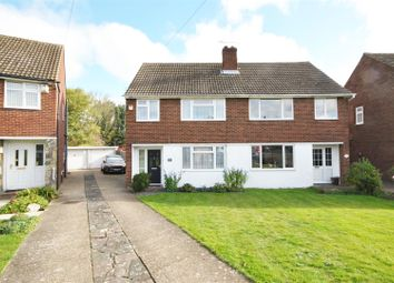 Thumbnail 4 bed semi-detached house for sale in Goffs Crescent, Goffs Oak, Waltham Cross