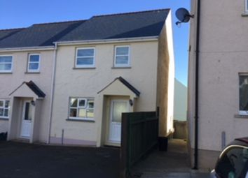 Thumbnail 3 bed semi-detached house to rent in Cae Gerddi, Goodwick