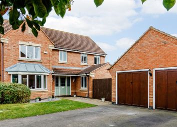 Thumbnail 4 bed detached house for sale in Croxden Way, Bedford, Bedfordshire