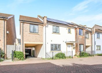 Thumbnail 4 bedroom link-detached house for sale in Iceni Way, Cambridge