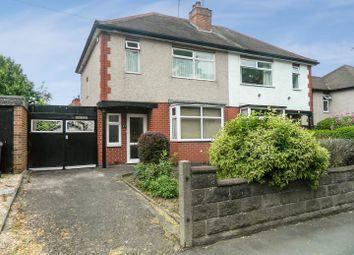 Thumbnail 3 bedroom semi-detached house for sale in Chellaston Road, Shelton Lock, Derby