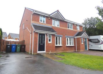 Thumbnail 3 bed semi-detached house for sale in Ancroft Drive, Hindley, Wigan, Greater Manchester