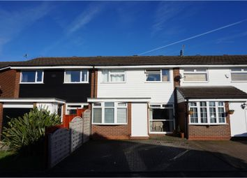 Thumbnail 3 bed terraced house for sale in Warton Close, Bramhall