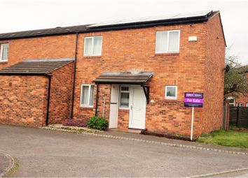 Thumbnail 3 bed end terrace house for sale in Leicester Way, Leegomery Telford