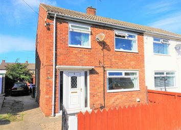 Thumbnail 3 bed semi-detached house for sale in Churchill Road, Eston, Middlesbrough