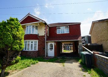 Thumbnail 4 bed semi-detached house for sale in Chatsworth Avenue, Cosham, Portsmouth