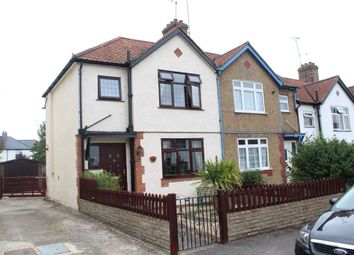 Thumbnail 3 bed end terrace house to rent in The Greenway, Epsom