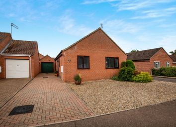Thumbnail 2 bedroom detached bungalow for sale in Edenside Drive, Attleborough