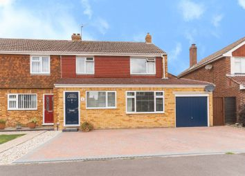 Thumbnail 4 bed semi-detached house for sale in Aldworth Avenue, Charlton, Wantage