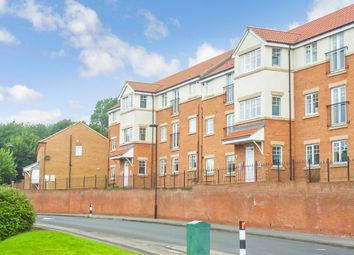 Thumbnail 2 bed flat for sale in Mickley Close, Wallsend