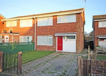 Thumbnail 3 bed semi-detached house for sale in Sandy Plot, Burton, Christchurch, Dorset