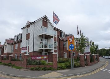 Thumbnail 2 bed flat for sale in King Harold Lodge, Broomstickhall Road, Waltham Abbey